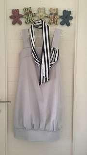 Greney baloon dress