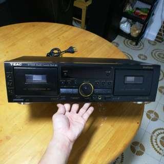 Teac w-790R double cassette Deck