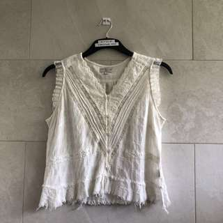 Guess Distressed Top