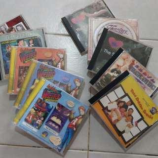 Nostalgic collection of CDs