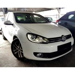 Volkswagen Golf 1.4 Turbo (A) 2012