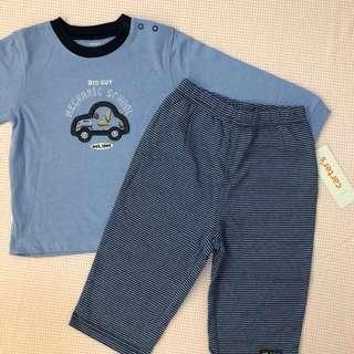[18M] Carter's Blue Pant Set