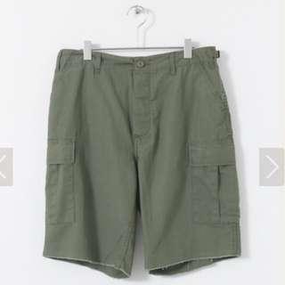 🚚 Rothco 不收邊軍綠短褲