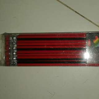 2B pencils