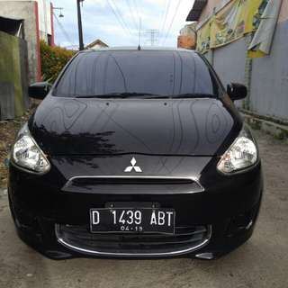 Mirage GLS mt 2013 hitam