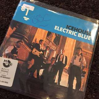 "1987 Ice House - Electric Blue (7"" Vinyl Record )"
