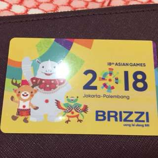 Brizzi Asian Games Series 2018