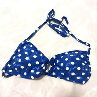 Polka Bandeau Bikini Top
