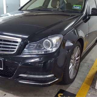 2012 Mercedes Benz C200 1.8(A) CGI W204