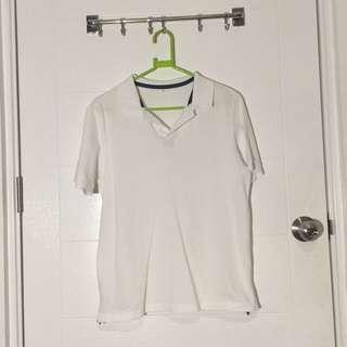 White Tennis Shirt
