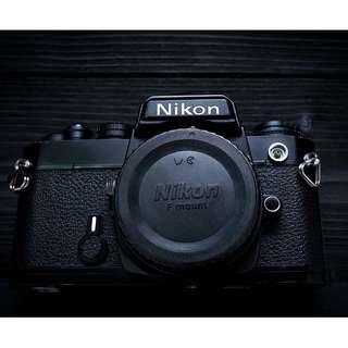 Nikon FE SLR film camera body