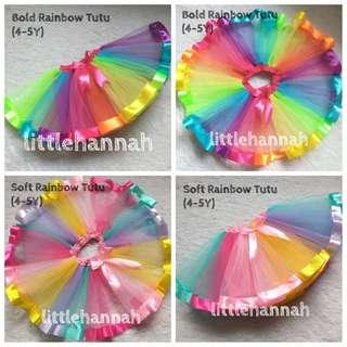Rainbow Tutu (4-5Y)