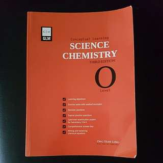 Giveaway - O Level Science Chemistry