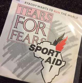 "1986 Tears for Fears - Everybody wants to run the world ( 7"" Vinyl Records )"