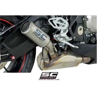 SC-Project CR-T Muffler Titanium with Carbon Cap