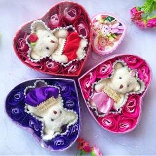 Kotak Bunga Valentine