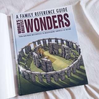 """World's Greatest Wonders"" book - 99K (new)"