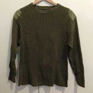 Celio Army Style Sweater