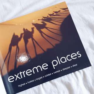 """Extreme Places"" book - 109K (new)"