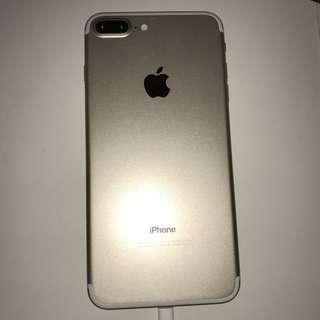 iPhone 7 Plus 256GB Apple Care + 額外保養 Gold 金連配件