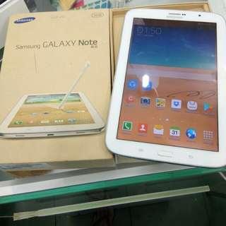 Samsung Tablet Note N5100 8.0 inch white mulus fulset ex SEIN spek oke