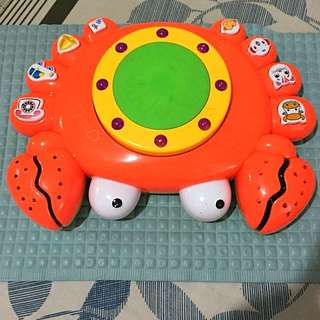 Crab Musical Toy