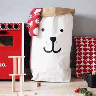 Kraft Paper Bag Storage