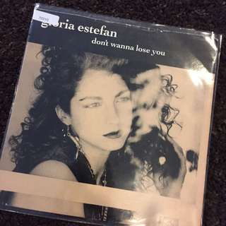 "1989 Gloria Estefan - Don't wanna lose you (7"" Vinyl Record )"