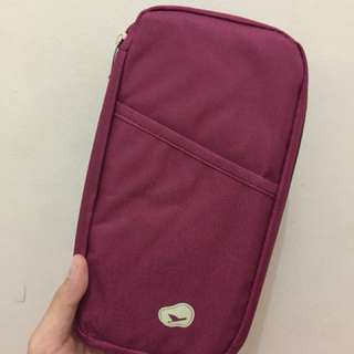 Travel Wallet - Maroon