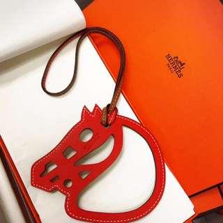 Hermes paddock charm 全新 有盒
