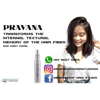 Keratin Treatment Using Pravana Perfection Smoothout