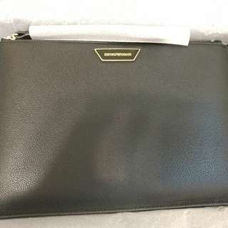 EMPORIO ARMANI CLUTCH Made In Italy 手袋 手提袋