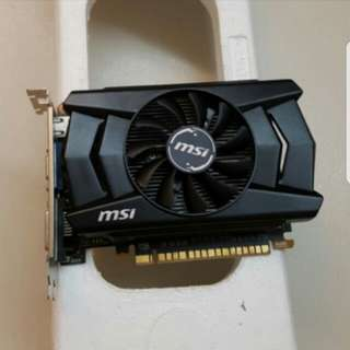 MSI N750TI display card