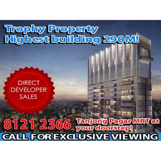 🌟READY TO MOVE IN TALLEST Condominium with RESIDENTIAL UNITS ABOVE TANJONG PAGAR MRT and HOME to Singapore's Business Central District, GET 360 SKYLINE VIEWS OF SINGAPORE, MIXED DEVELOPMENT with RESIDENTIAL, HOTEL, COMMERCIAL SHOPS AND OFFICES!🌟