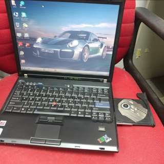 Budget Ibm 14 inches DVD all apps ready good  for study
