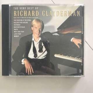 Richard Clayderman Music CD