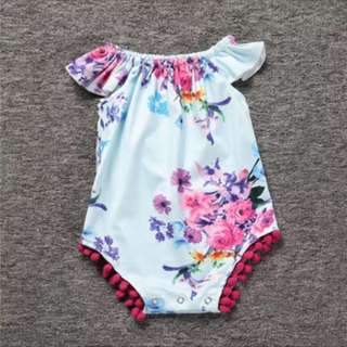 BN Floral Off Shoulder Romper