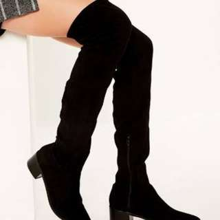 Glassons over the knee boots