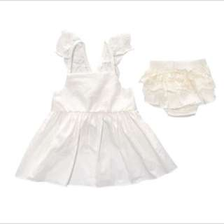 BN White Angel Lace 2pc Set