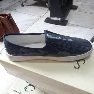 New slip on navy something borrowed