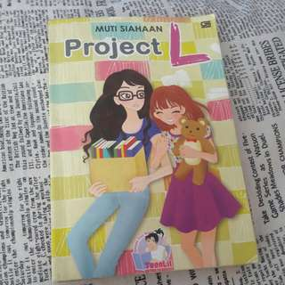 Novel TeenLit Project L