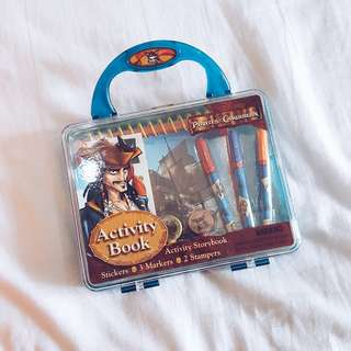 """Pirates of The Caribbean Activity Book"" book - 79K (new)"