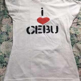 I love cebu shirt