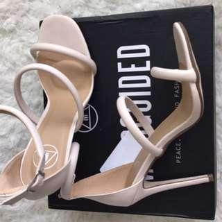 Missguided nude heels