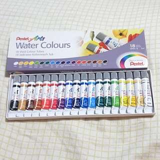 Pentel Water Colours Set of 18
