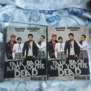 TALK BACK AND YOU'RE DEAD BOOK 1-2