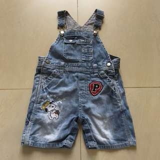 Boy jeans overall