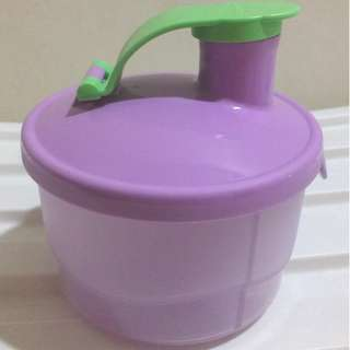 Tupperware Milk / Snack Dispenser
