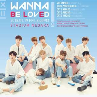 Wanna One Fan Meeting in Kuala Lumpur Ticket