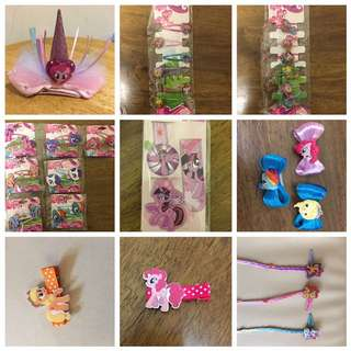 My little Pony hair clip (all have stock now!)